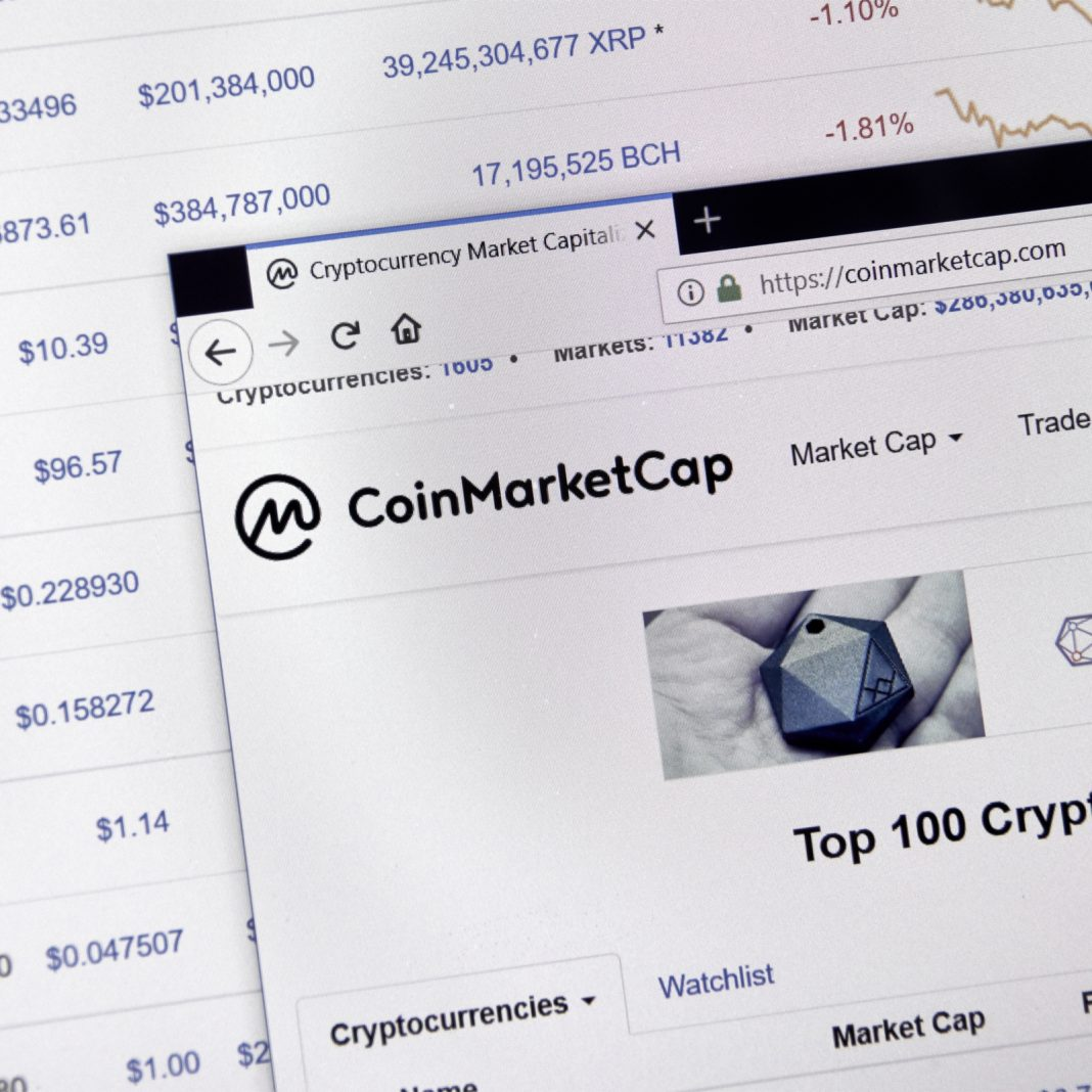 Coinmarketcap Launches Professional API and Adds Derivatives Markets