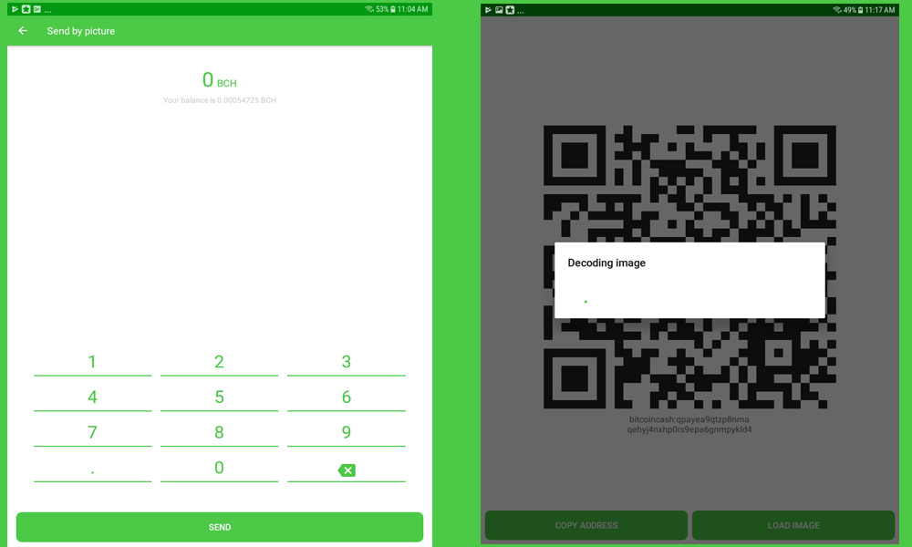 Hiding Bitcoin Cash in Pictures With the New Pixel Wallet App