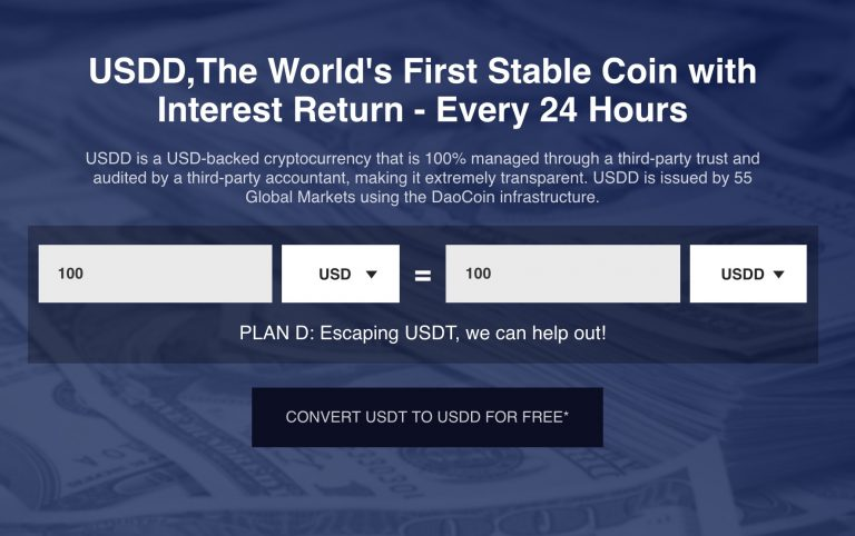 Debut of USDD - A Stable Coin That Pays You Interest