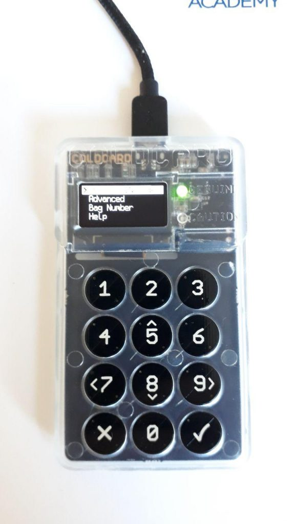 Review: Coldcard's BTC Hardware Wallet Is Air-Gapped for Added Security